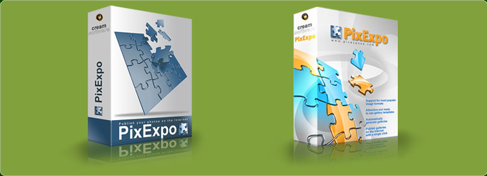 PixExpo Software Box Mockup