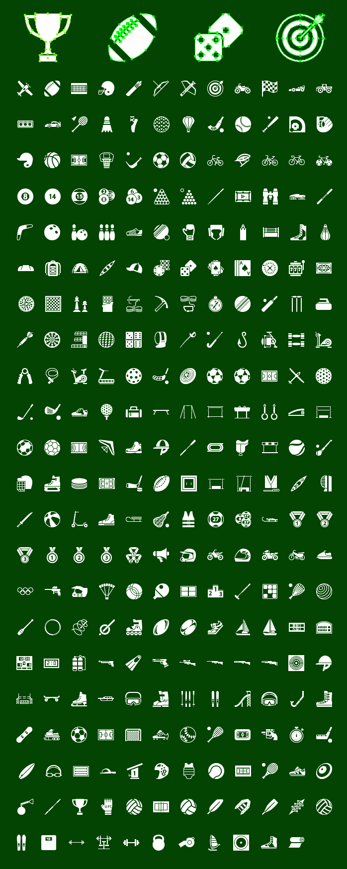 Icons-Land Metro Sport Vector Icons Screenshot