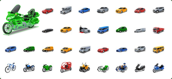 Transport Vector Icons Screenshot