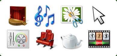 Windows 7 Icons-Land Vista Style Multimedia Icon Set 2.0 full