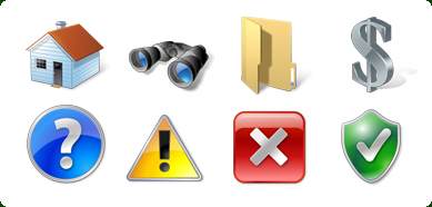 Vista Style Base Software Icons Set