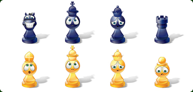 Icons-Land Vista Style Chess Emoticons