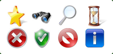 Vista Style Elements Icon Set