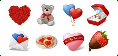 Click to view Icons-Land Vista Style Love Icons Set 1.0 screenshot