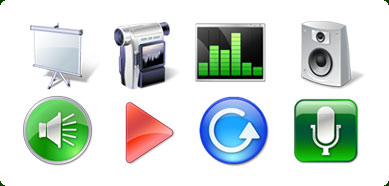 Icons-Land Vista Style Multimedia Icon Set